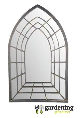 Gothic Garden Mirror - Trompe L'oeil
