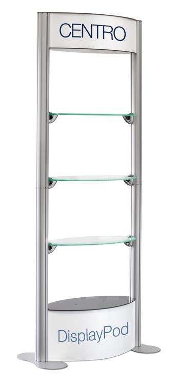 Centro Display Pod Shelves