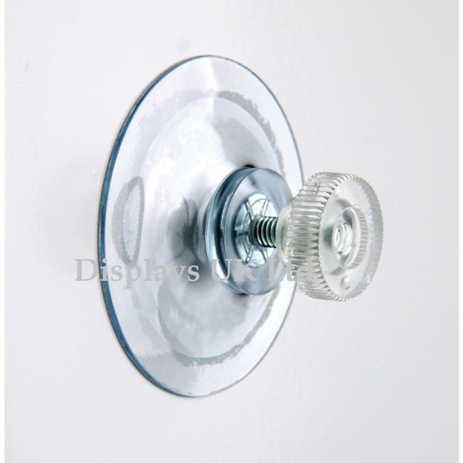 Window Display Suction Cup Fixings - Heavy Duty