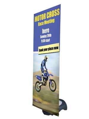 Banner Stand Hire - Outdoor Stands From £19.99