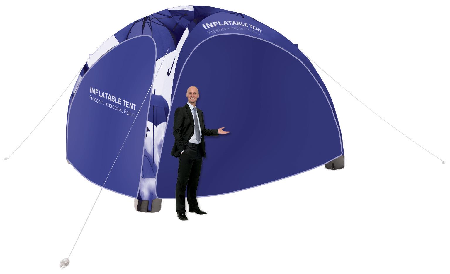 Printed Inflatable Event Tent Gazebo