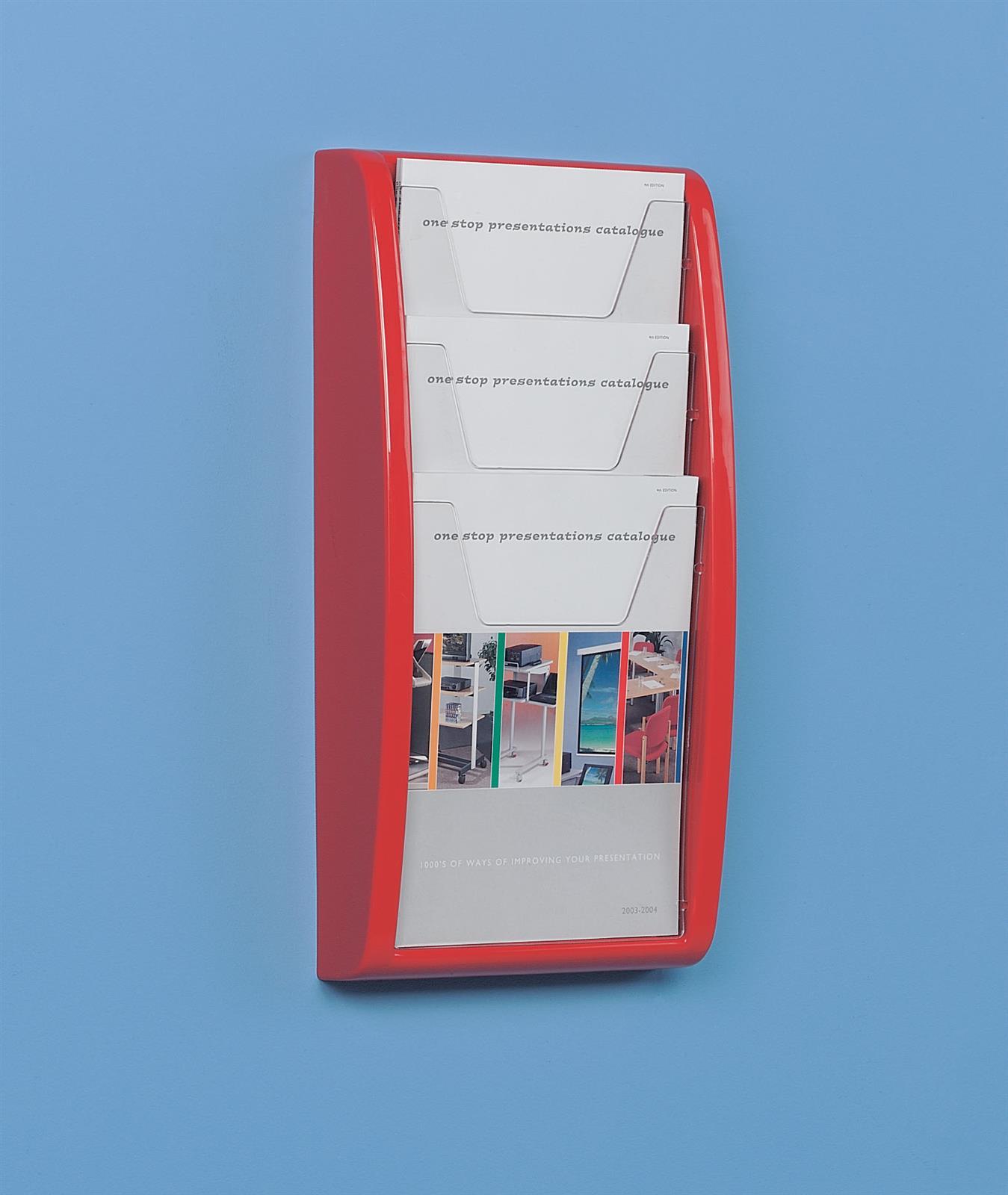 Panorama Wall Mounted Leaflet Dispenser