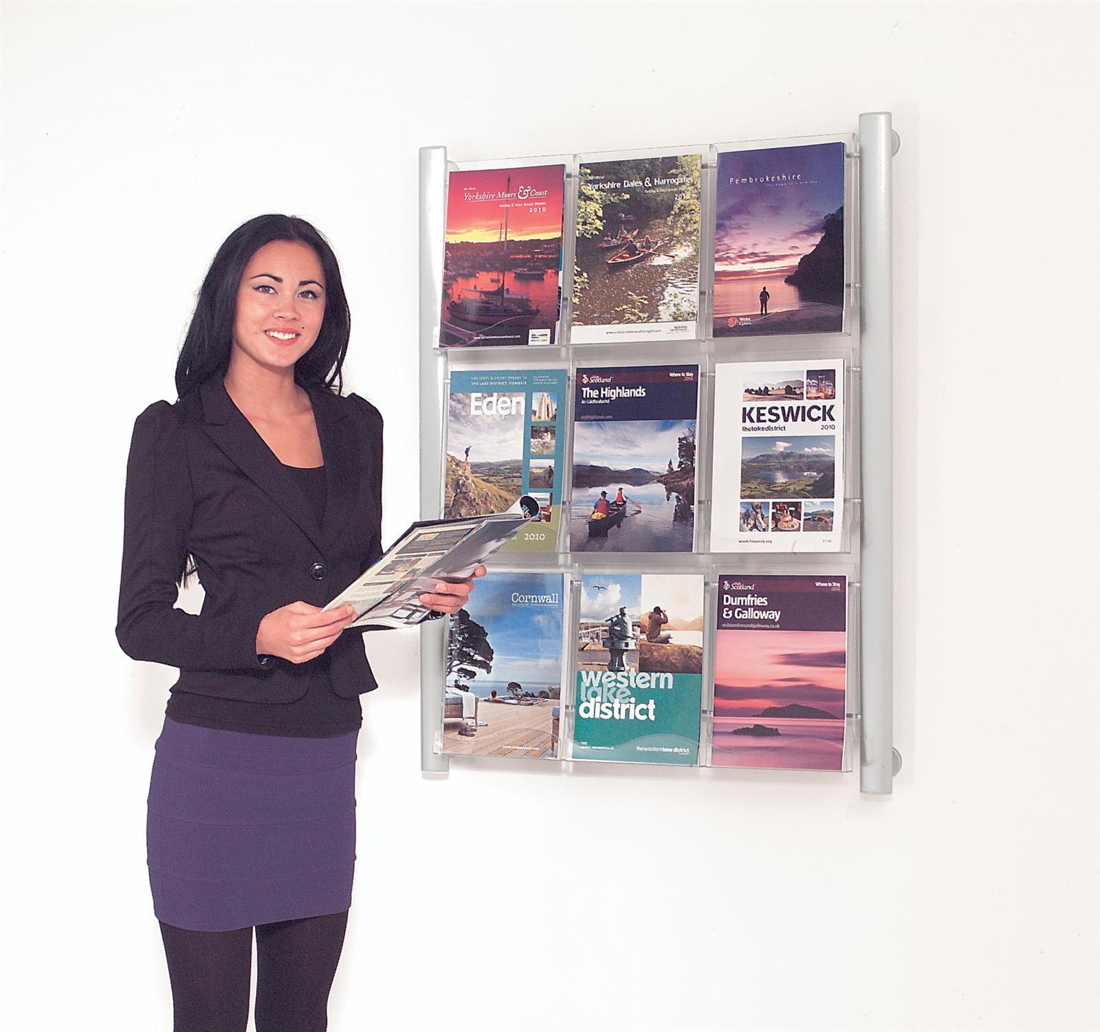 Crest Wall Mounted Literature Dispenser