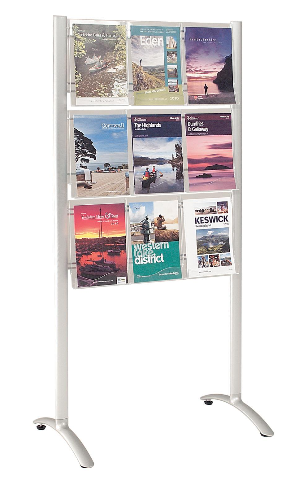Crest Freestanding Literature Dispensers