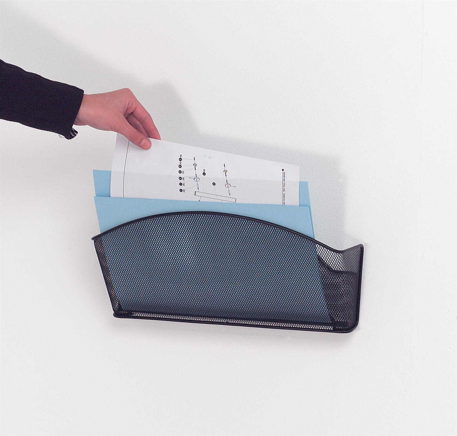Mesh Wall Mounted Literature Dispensers
