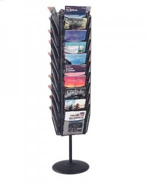 Mesh Freestanding Literature Dispensers