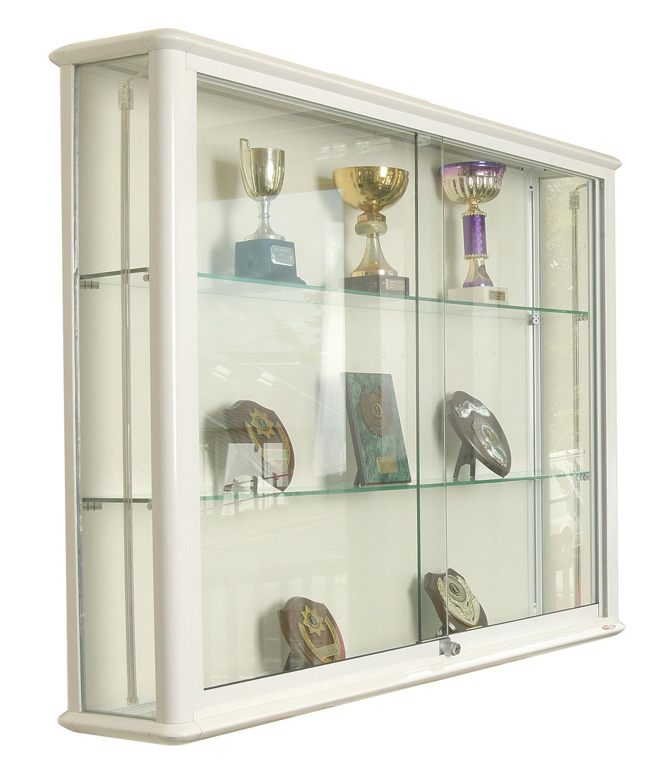 Shield Glazed Wall Display Cases