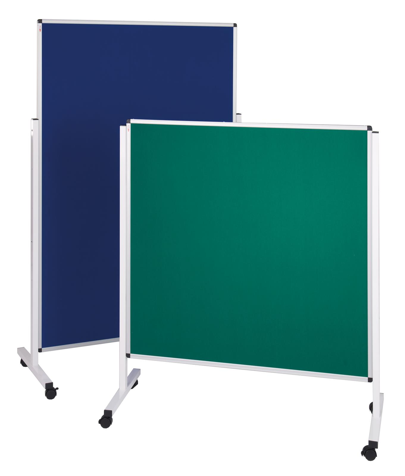 Height Adjustable Mobile Noticeboards - Pinboard
