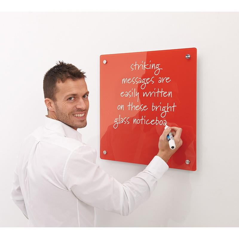 WriteOn Coloured Glass Information Boards - £57.56