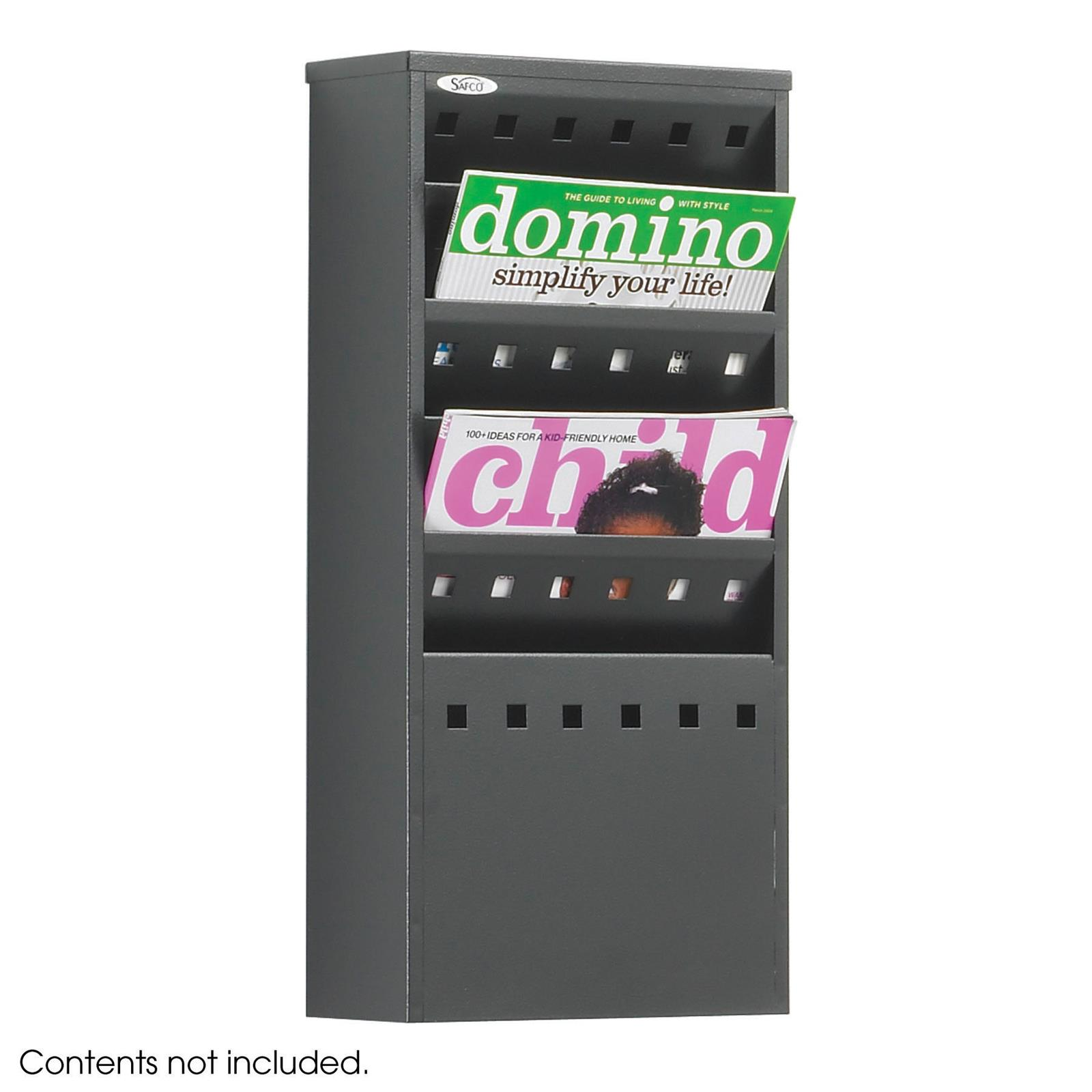 Steel Wall Mounted Literature Dispensers
