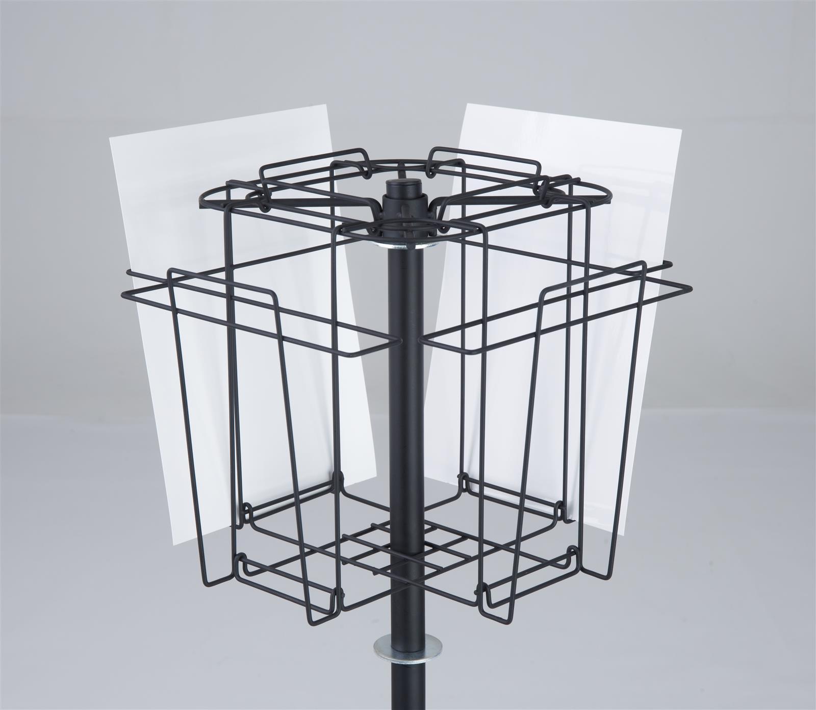 Wire Revolving Literature Dispenser