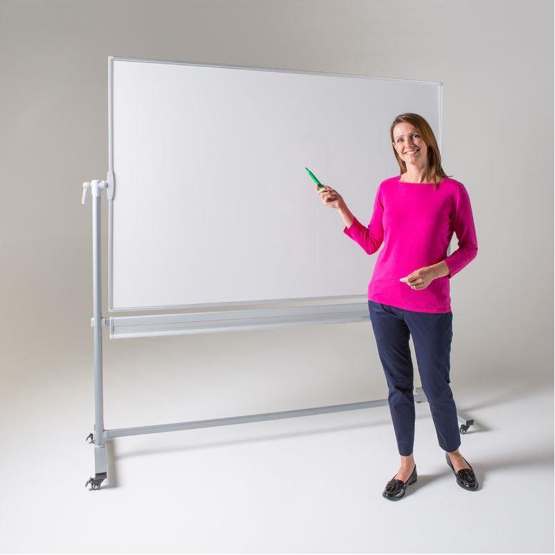 WriteOn Mobile Revolving Whiteboard