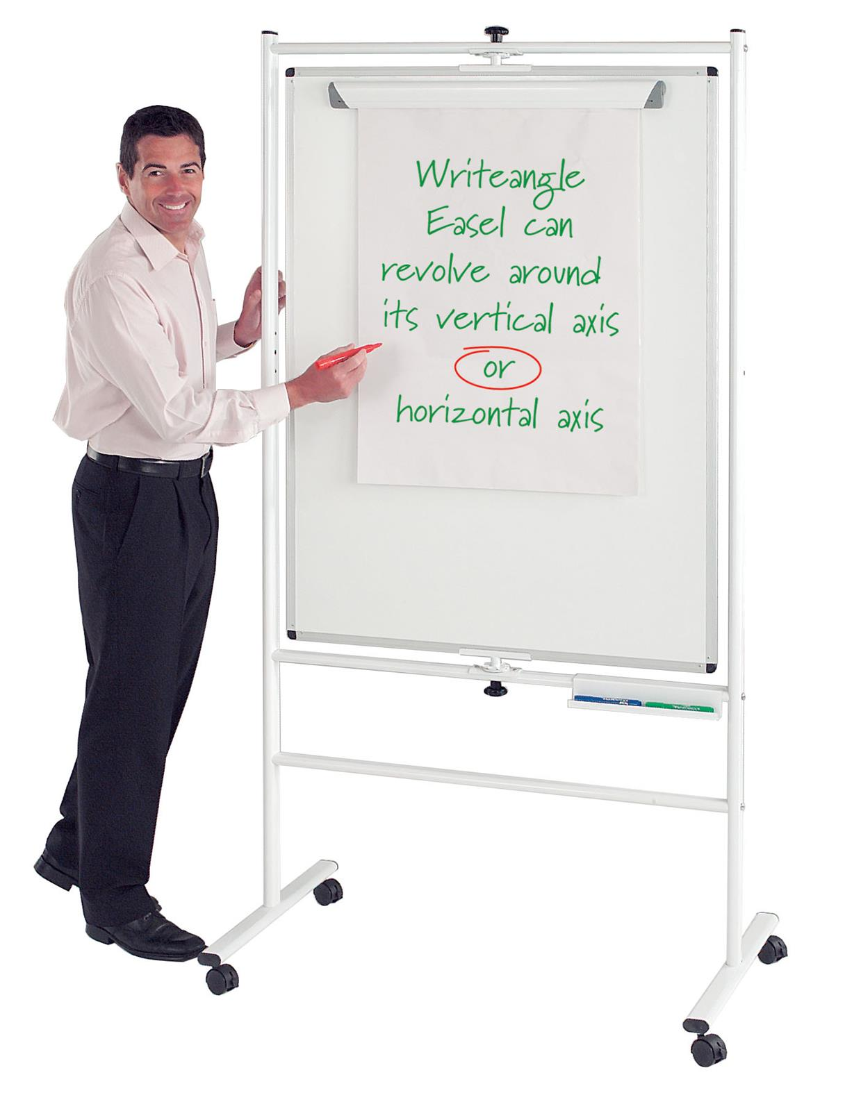 WriteAngle Mobile Revolving Whiteboards