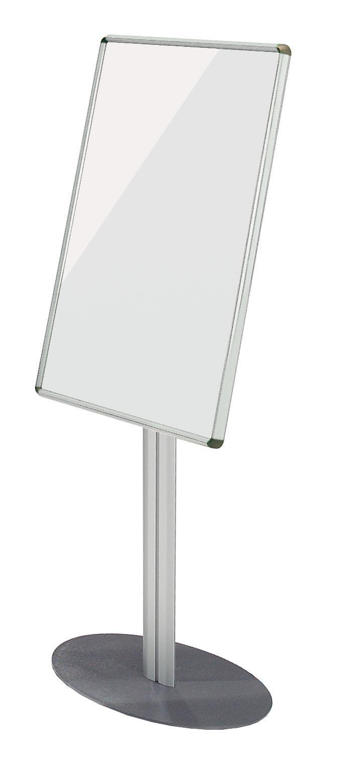 Shield Drywipe Foyer Whiteboards - Freestanding