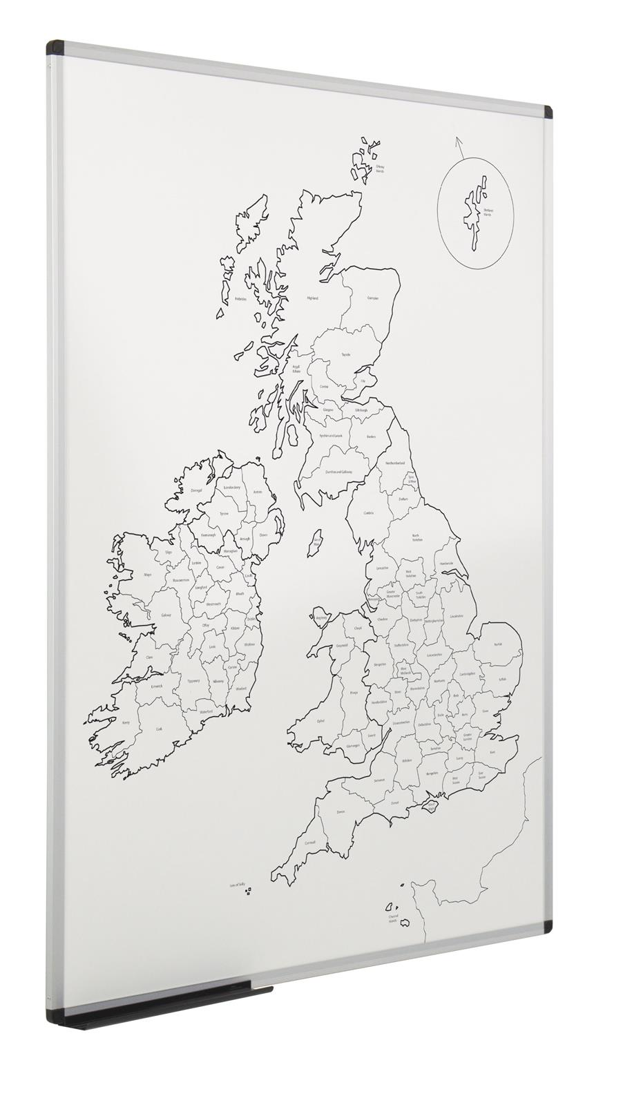 WriteOn Magnetic UK County Map