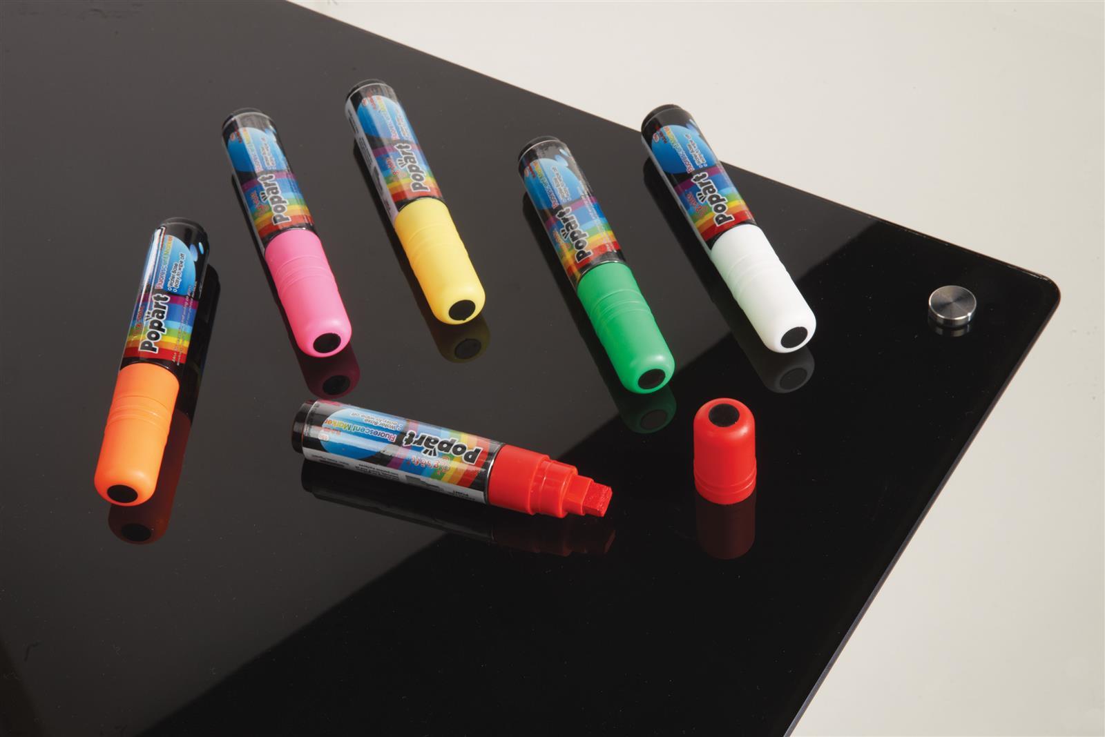 Dry/Wetwipe Glass And Blackboard Pens