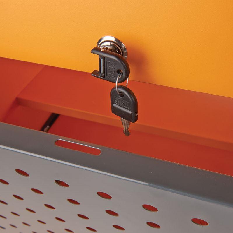Metroplan MM100 Coloured Mobile Multi-Media Cabinets