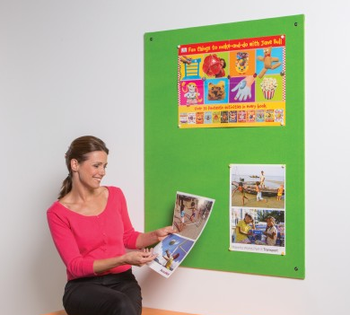 Metroplan Frameless Colourplus Noticeboards