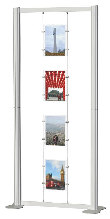 Centro Suspended Poster Display Kit 1