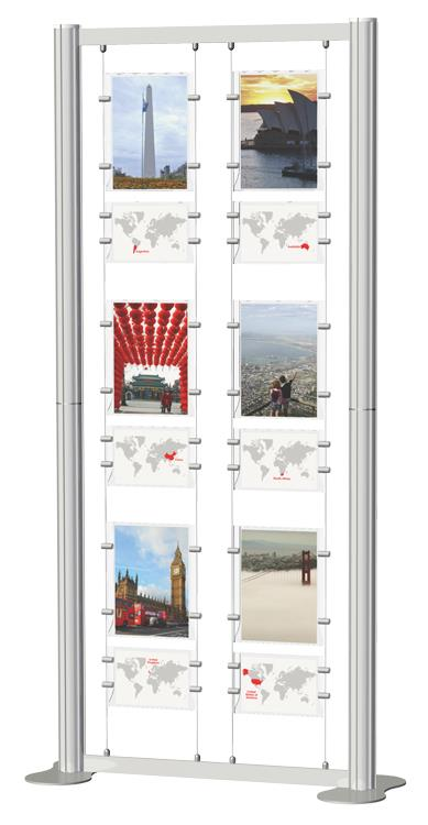 Centro Suspended Poster Display Kit 6