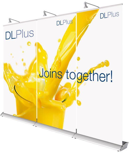 Eurostand DL Plus Linked Roller Banner