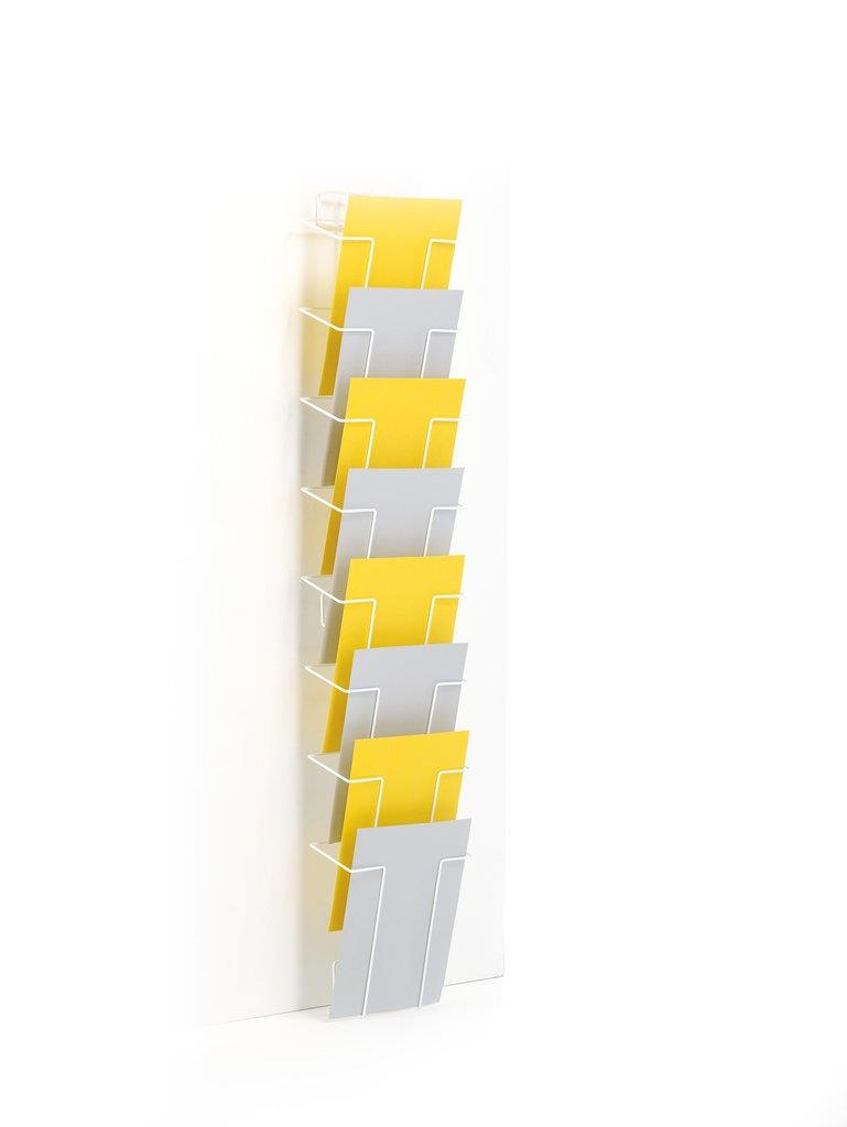 A4 Wall Rack Wire Leaflet Display
