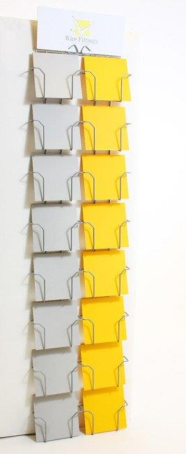 Wall Rack for Square Greeting Cards