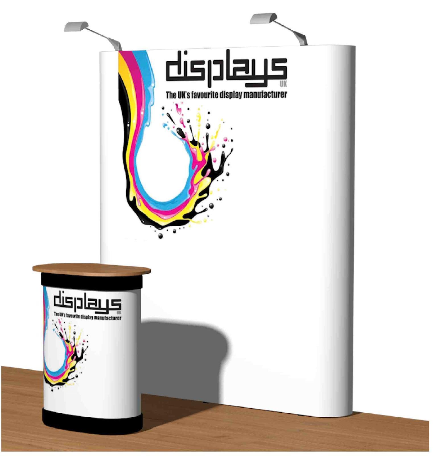 3x2 Visage Straight Premium Pop Up Exhibition Stand