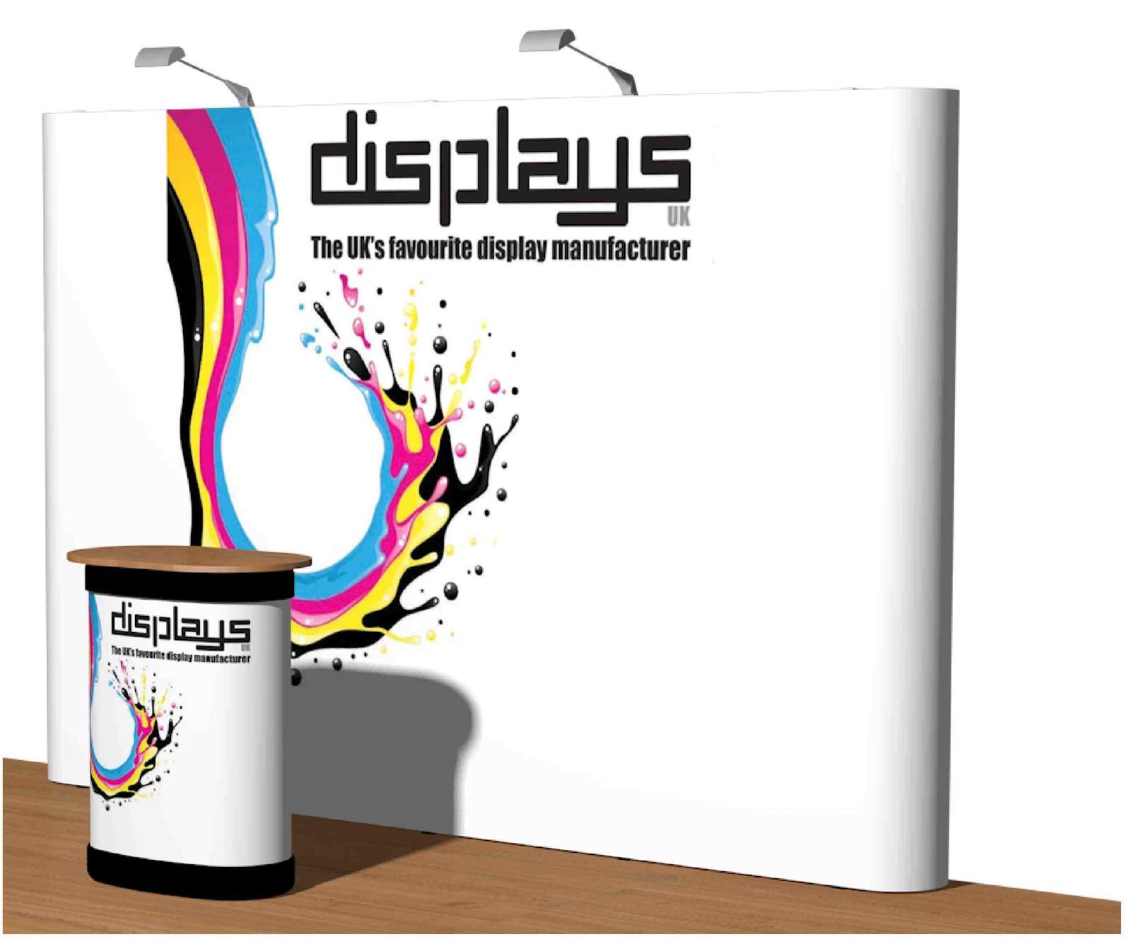 3x4 Visage Straight Premium Pop Up Exhibition Stand