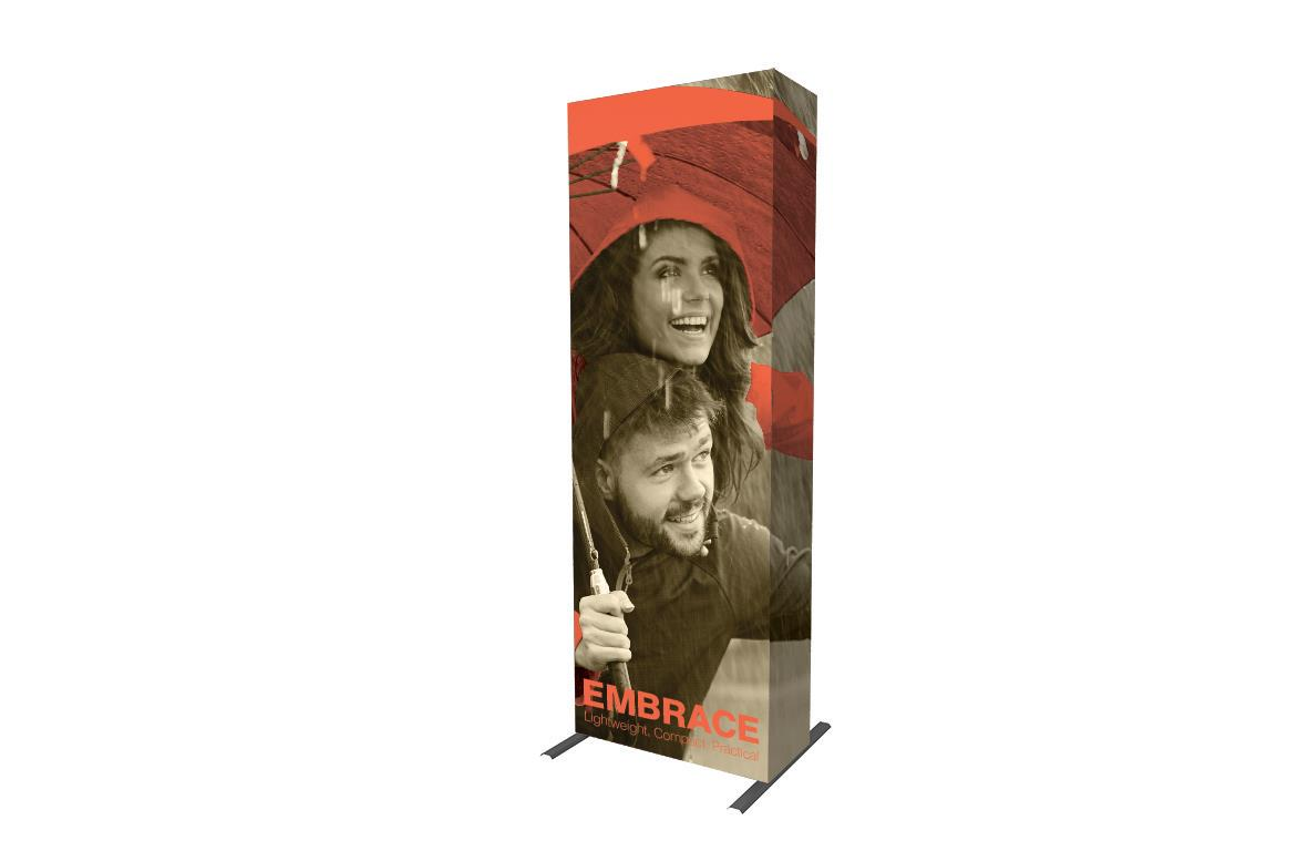 3x1 Printed Fabric Pop Up Displays - Embrace Kit