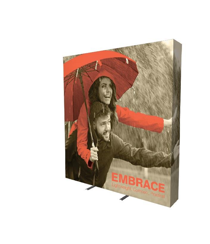 3x3 Printed Fabric Pop Up Display Embrace Kit