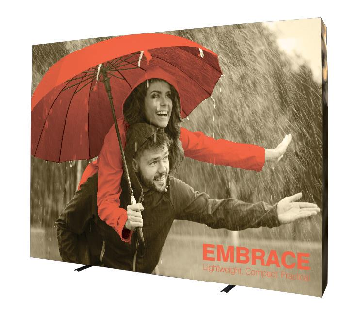 3x4 Printed Fabric Pop Up Display Embrace Kit