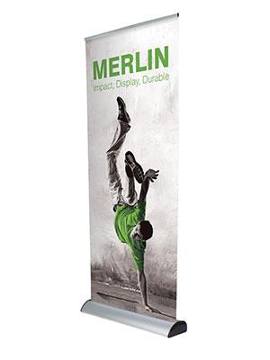 Replacement Merlin Banner Stand Cassette Graphics