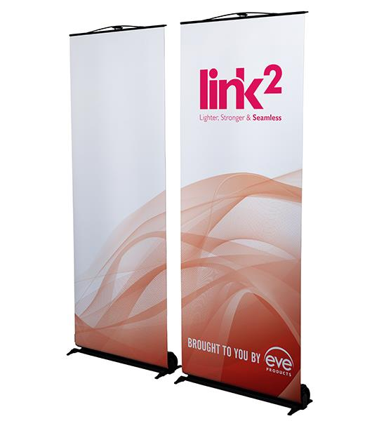 Link 2 Double Linking Roller Banner
