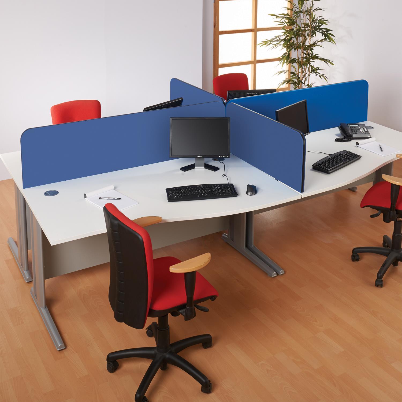 Busy Screen Curve Desk Screens