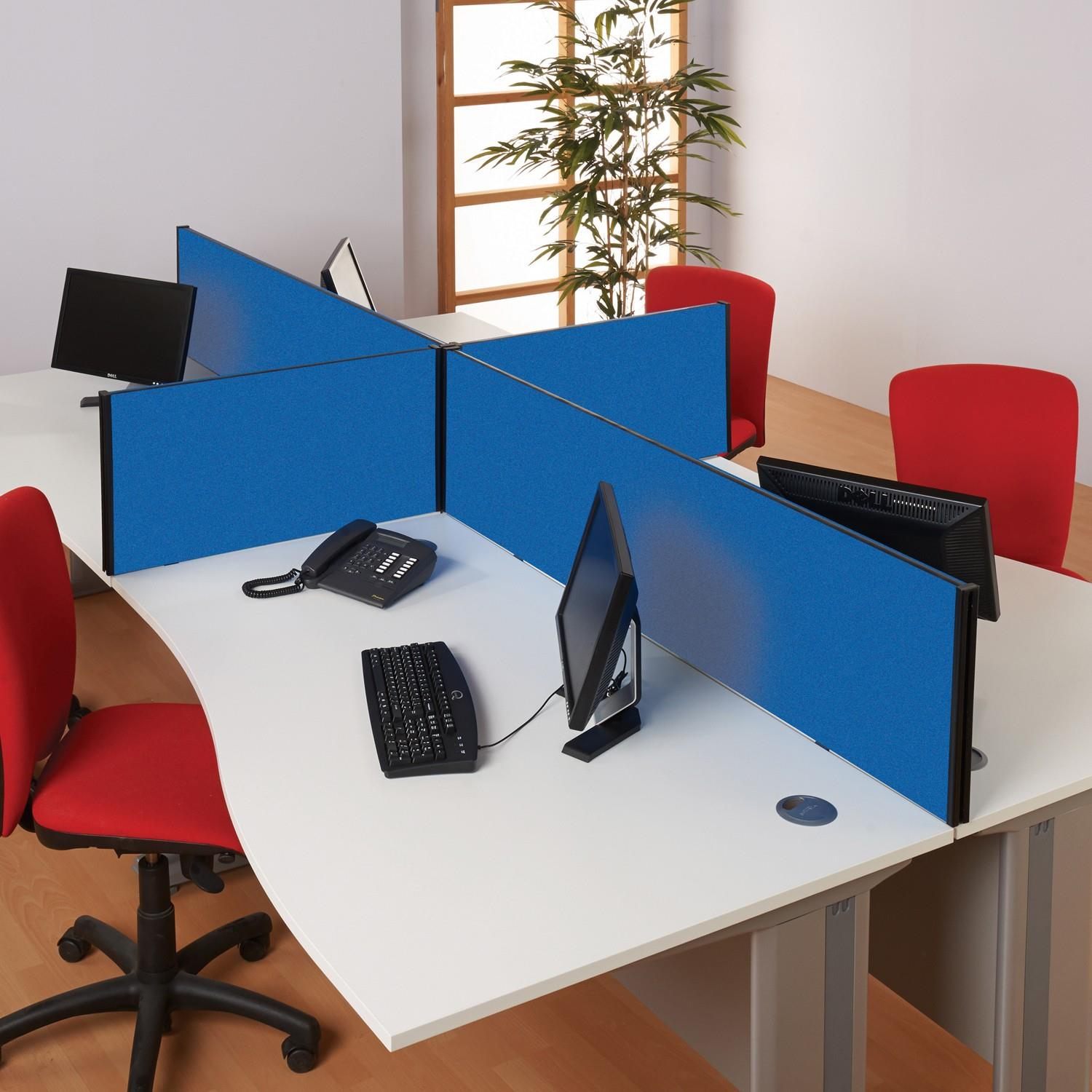 Busy Screen Classic Desk Partitions