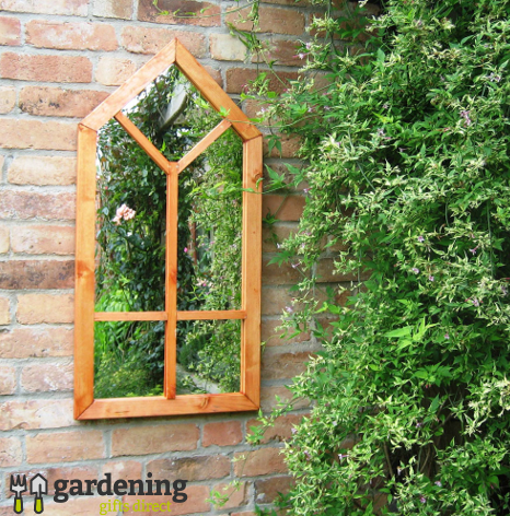 Garden Mirror Gothic Window Illusion