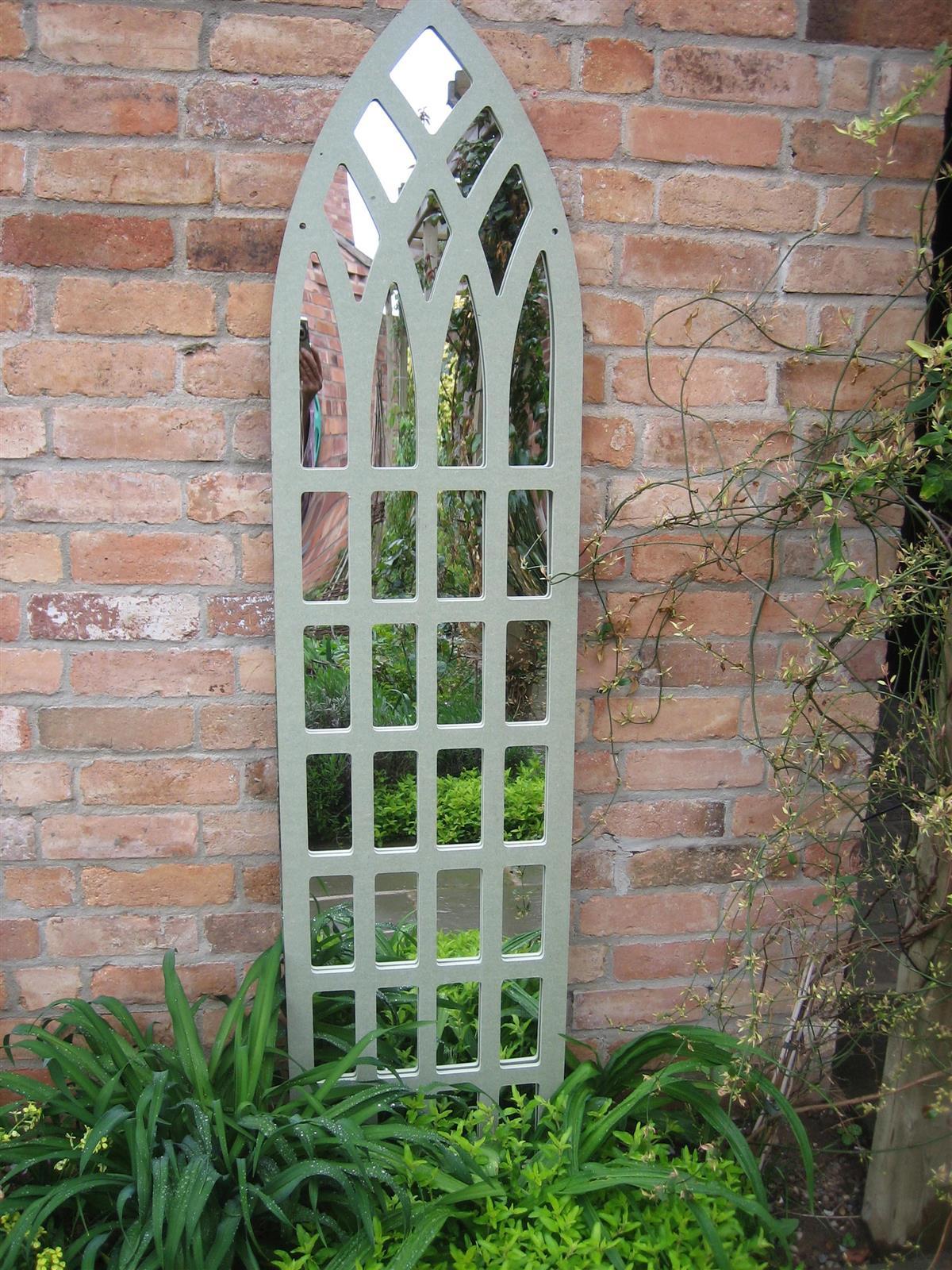 Garden Mirror Gothic Trellis Tall Mirror