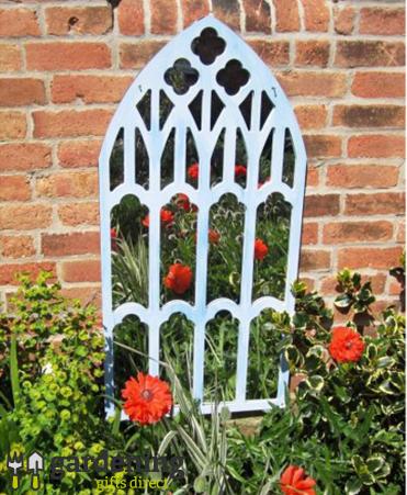 Garden Mirror New Gothic Trellis