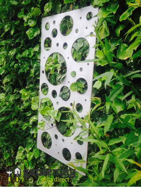 Bubble Decorative Garden Wall Panel