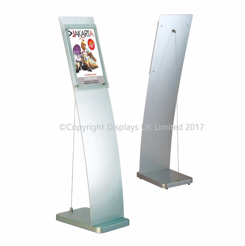 Free Standing A4 Retail Information Point