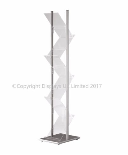 Zig Zag Portable A4 Brochure Stand