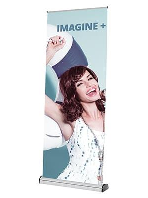 Imagine Plus Replaceable Cassette Roller Banner Stand
