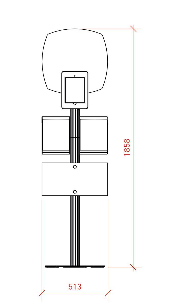iPad Display - Retail Combination 2 - Eurostand