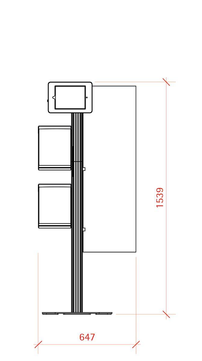 iPad Display - Retail Combination 3 - Eurostand