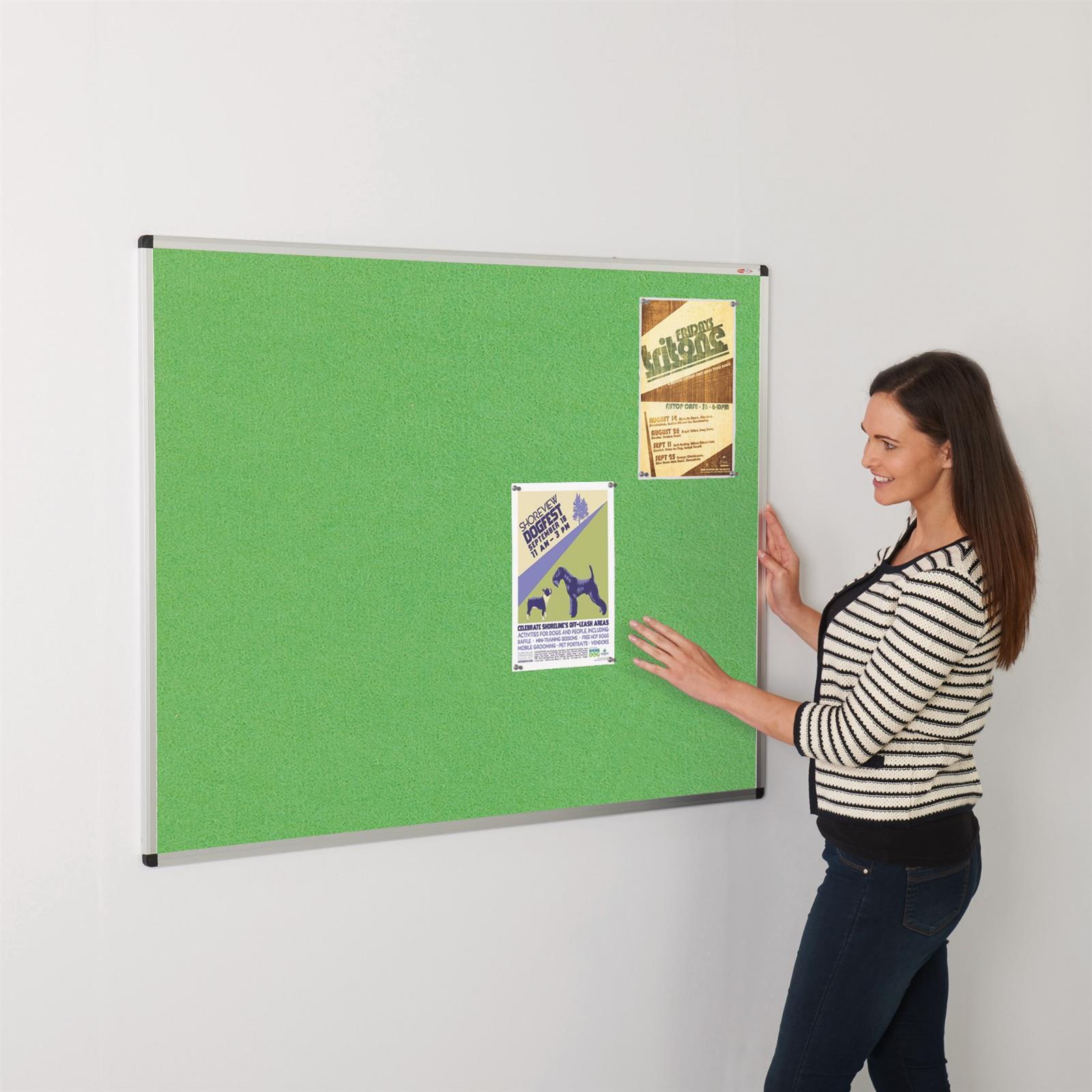 ColourPlus Aluminium Framed Noticeboards