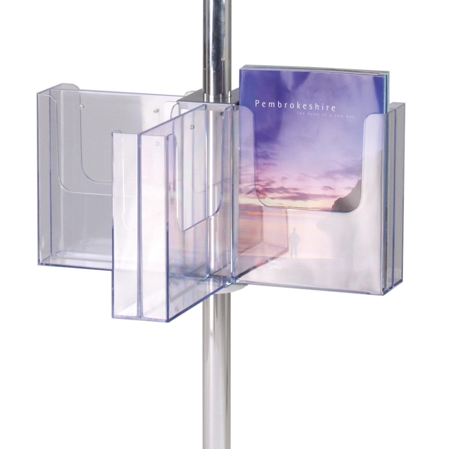 Pirouette Literature Dispenser - Modular Display
