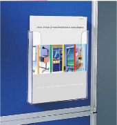 Single Pocket Literature Dispenser - Wall Mounted