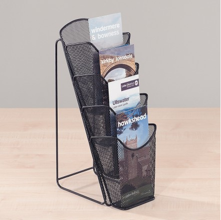 Mesh Desktop Literature Dispensers