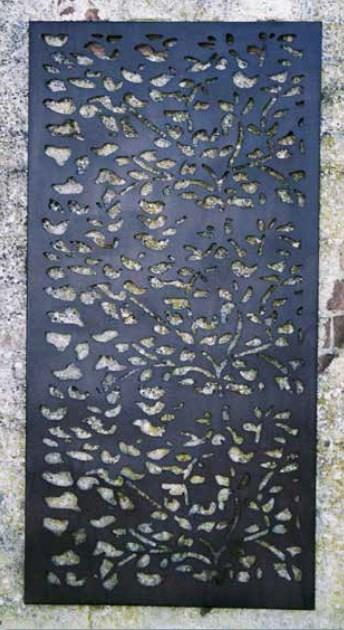 Decorative Leaf Garden Wall/Fence Panel
